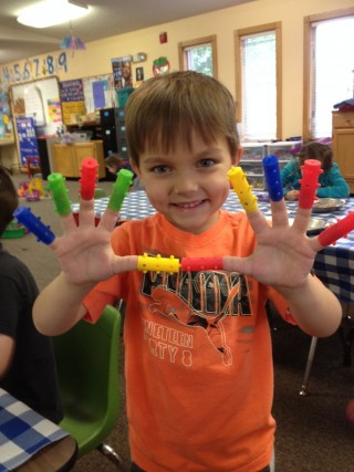 preschool hands photo